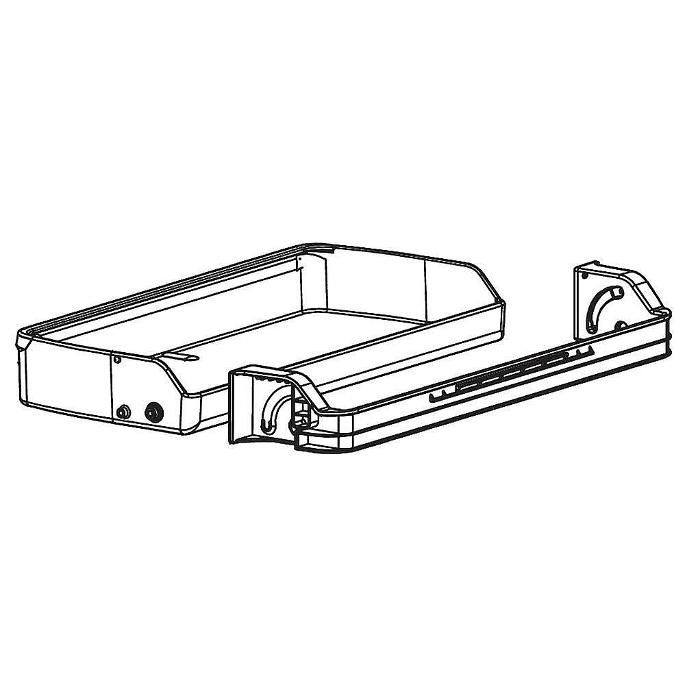 Lg AAP73792202 Refrigerator Door Bin Assembly Genuine OEM
