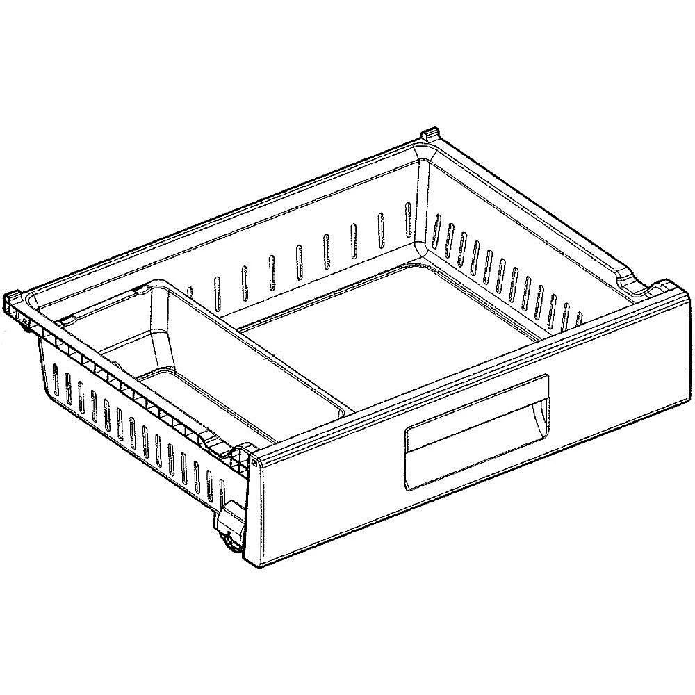 Refrigerator Freezer Drawer AJP73334709