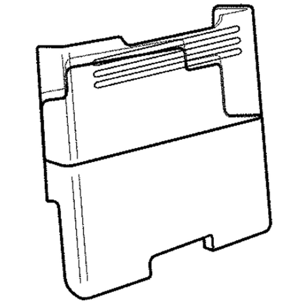 Refrigerator Ice Container Assembly