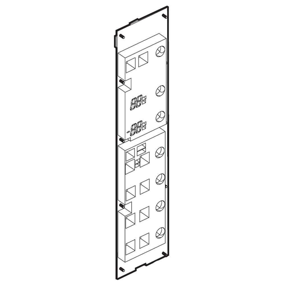 Refrigerator Dispenser Control Panel EBR72955426 parts