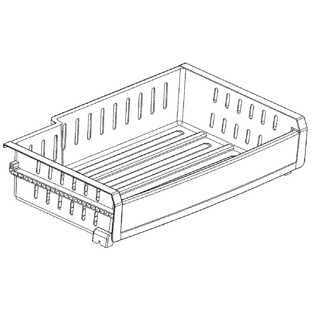 Lg MJS62931903 Refrigerator Freezer Drawer Genuine OEM