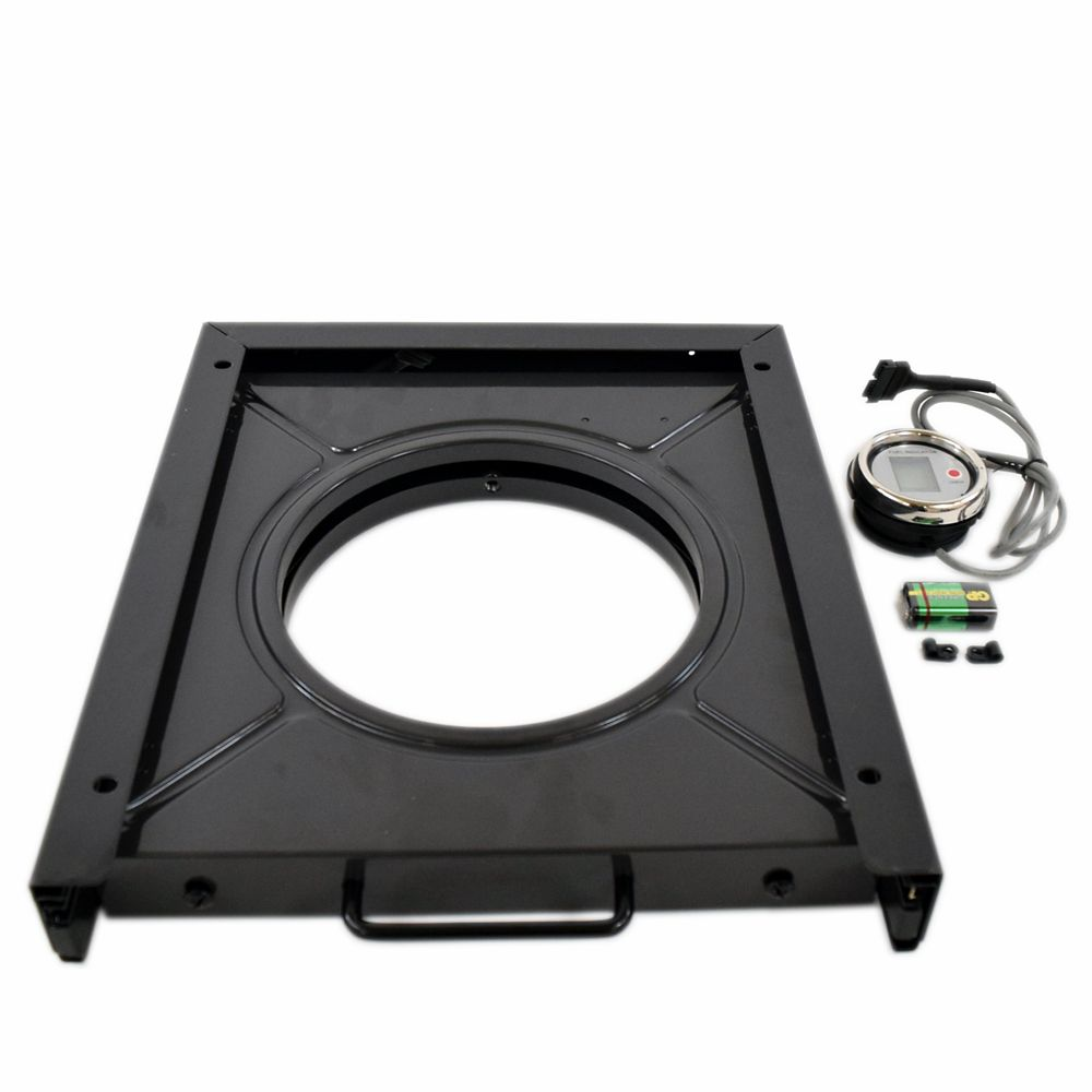 Gas Grill Tank Tray and Fuel Gauge Assembly