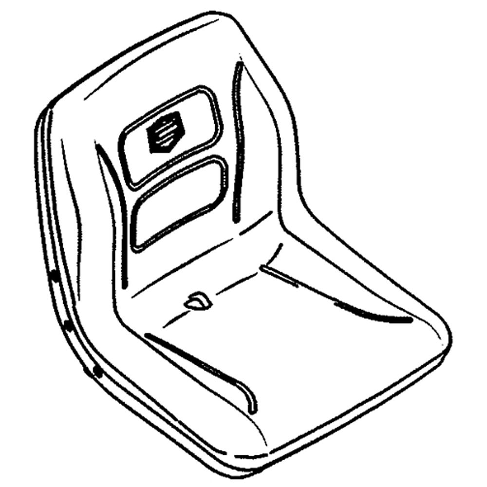 Lawn Tractor Seat