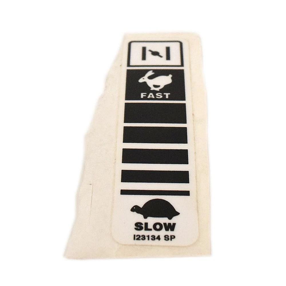 Throttle Label