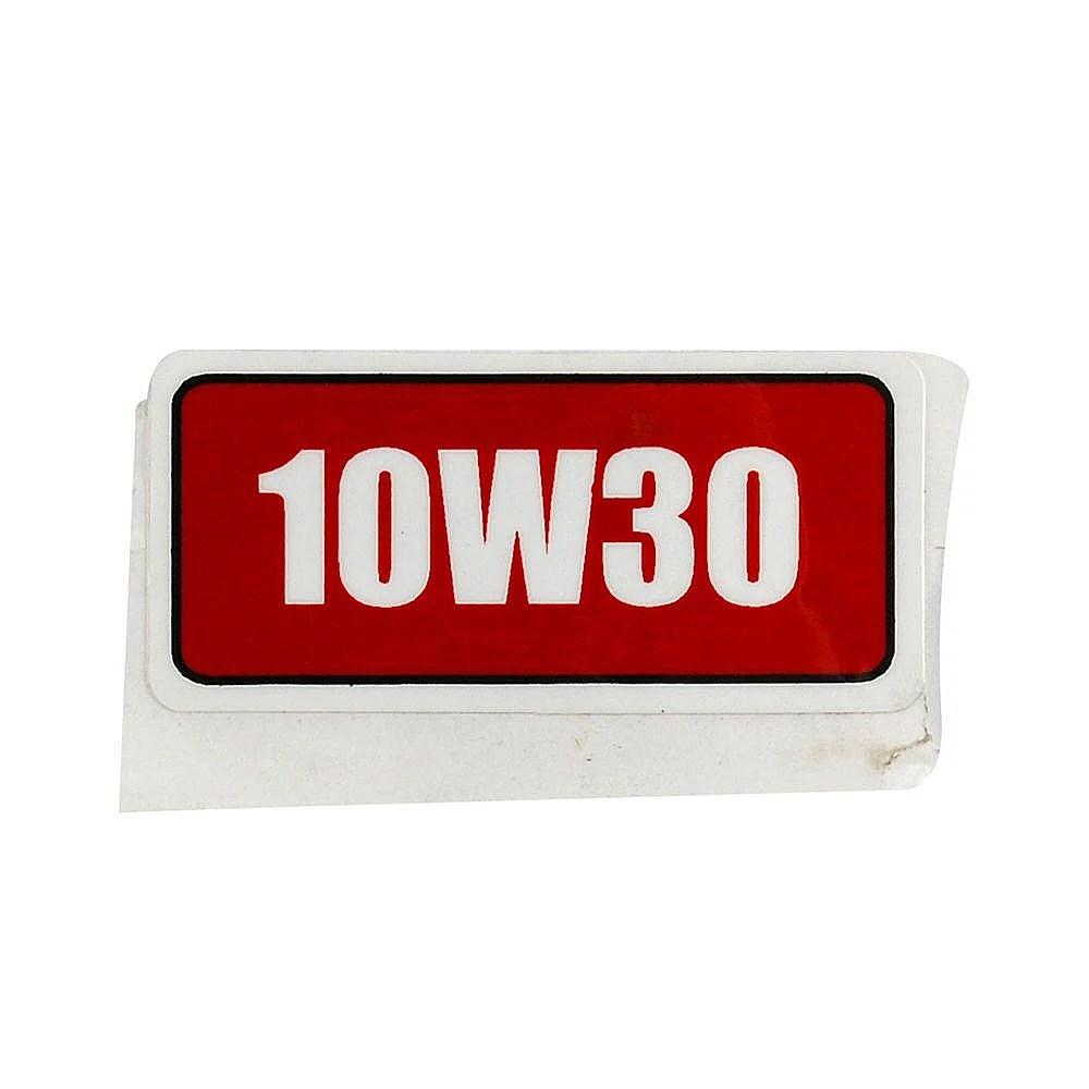Lawn Mower Label