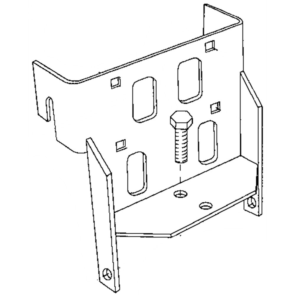 Agri-Fab 65409 Lawn Tractor Sleeve Hitch Attachment