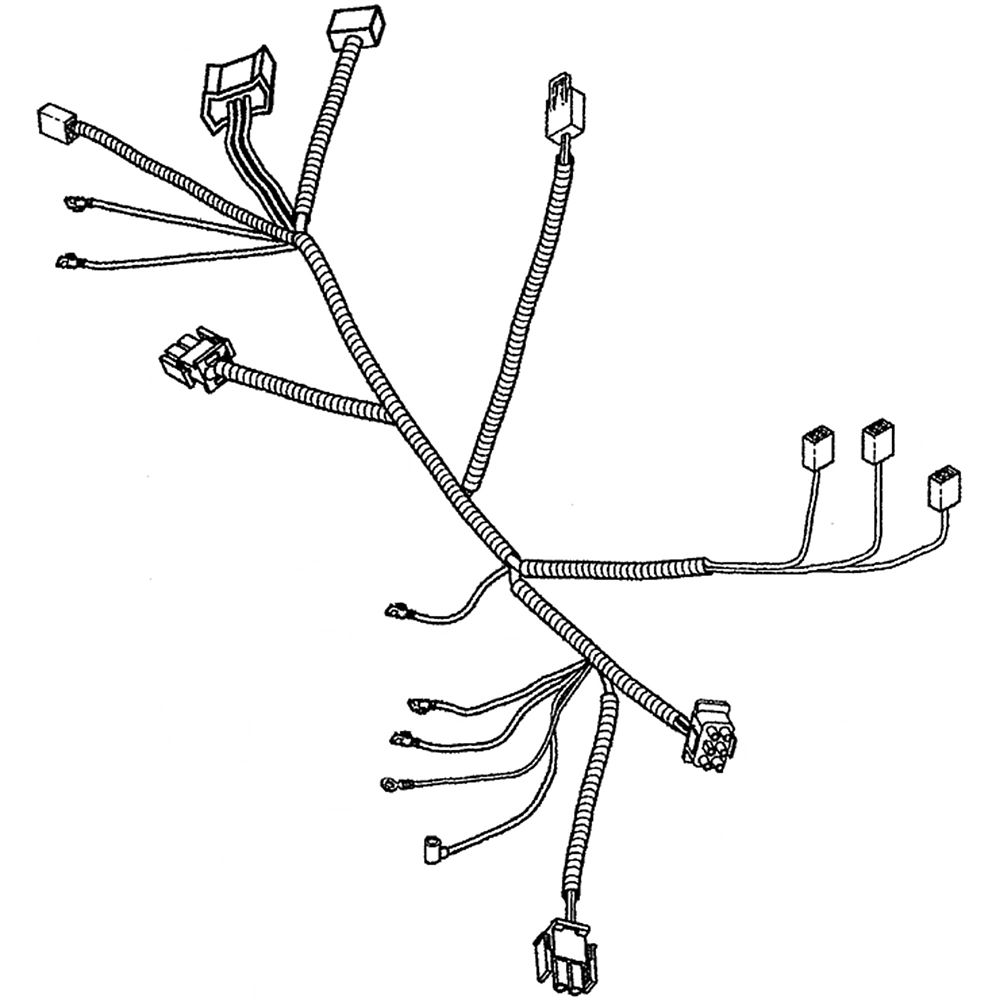 Lawn Tractor Wire Harness 7103412YP