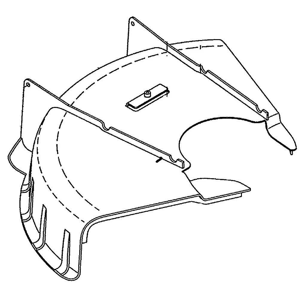 Line Trimmer Bottom Deflector