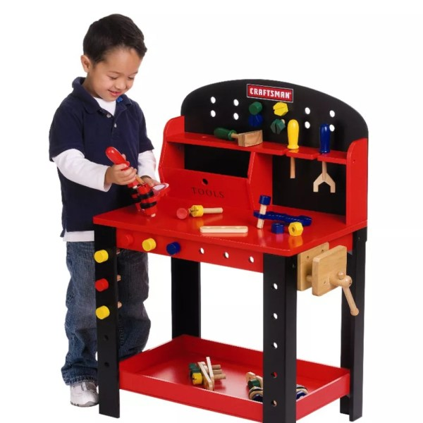 Prime 20 Craftsman Toy Tool Bench Pictures And Ideas On Stem Machost Co Dining Chair Design Ideas Machostcouk