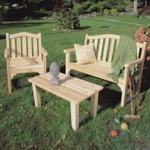 Kids Patio Setspatio Chairspicnic Tables - Wood