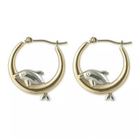 Dolphin Hoop Earrings Products On Sale