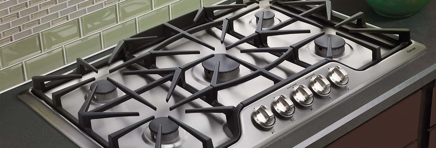 kitchen cooktops tuscany faucet a beginner s guide to buying cooktop sears