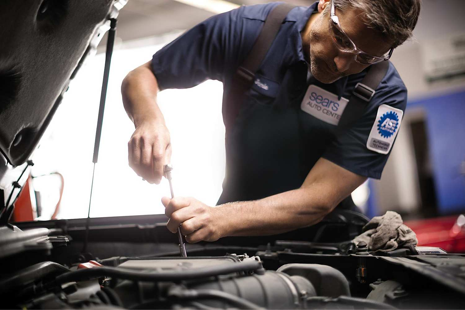 hight resolution of sears auto services