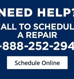 call to schedule a repair  [ 1500 x 923 Pixel ]