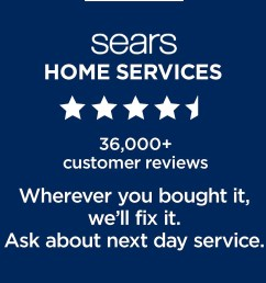 sears home services 36 000 customer reviews  [ 1500 x 1185 Pixel ]