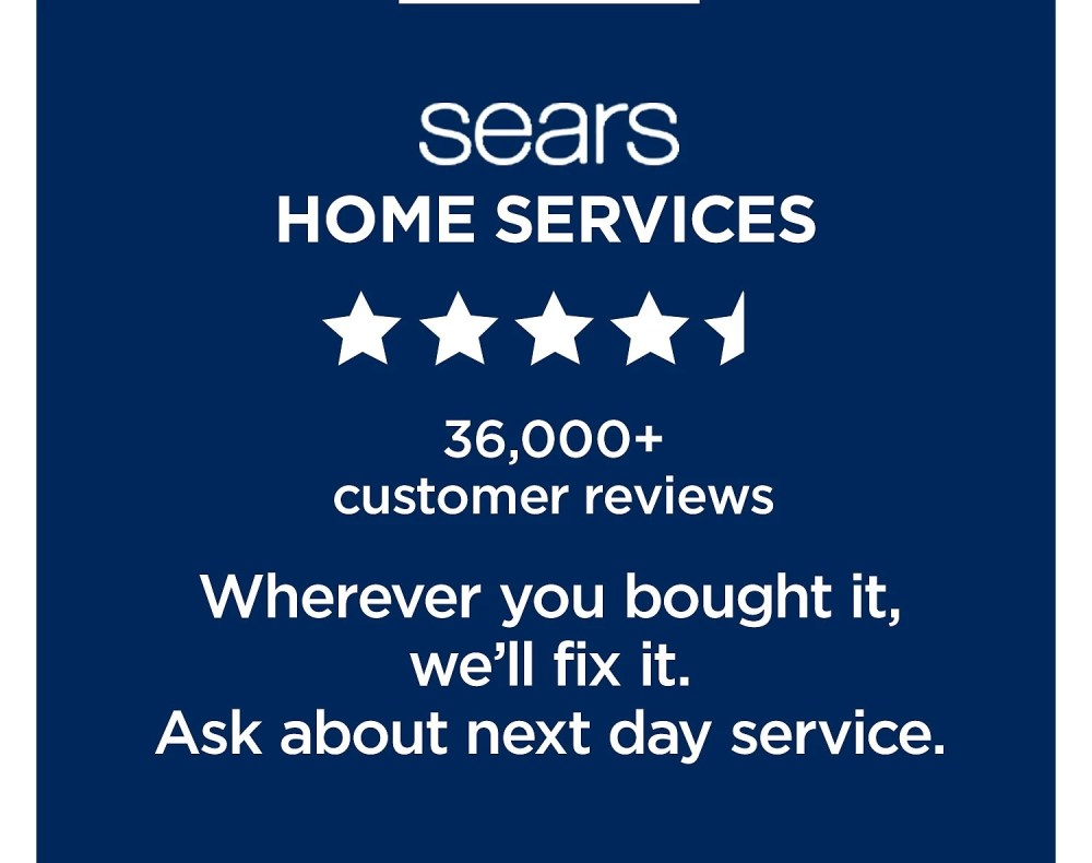 medium resolution of sears home services 36 000 customer reviews