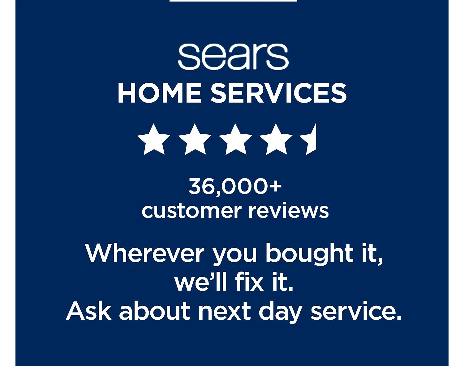 hight resolution of sears home services 36 000 customer reviews