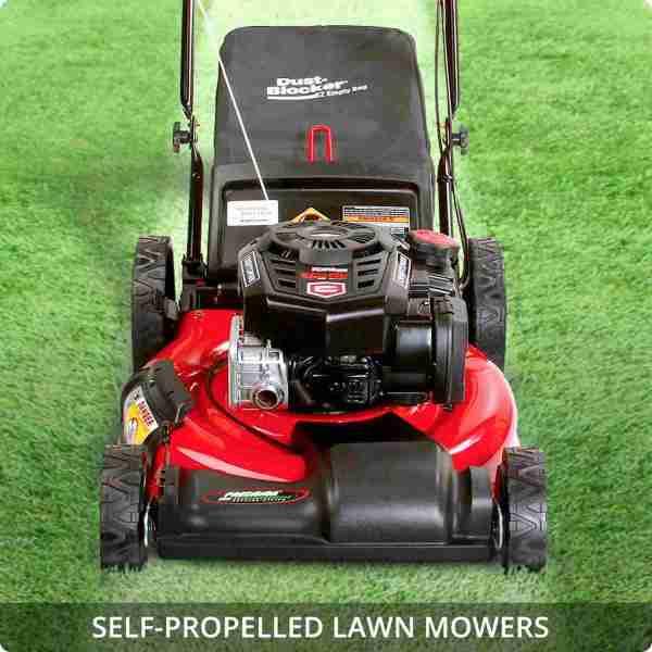 Self-Propelled Lawn Mowers