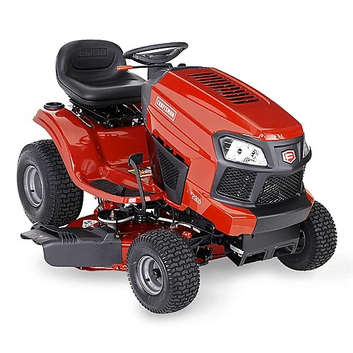 Mulching Leaves Riding Mower