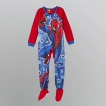 Boys Spider-Man Footed Pajamas