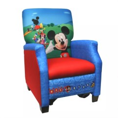 Mickey Mouse Clubhouse Chair Barrel Accent Delta Club House Recliner Shop Your Way Online