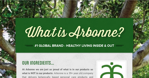 Arbonne Skin Care Products