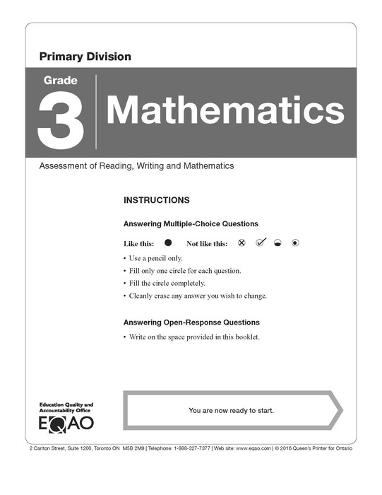 Understanding the EQAO Assessments