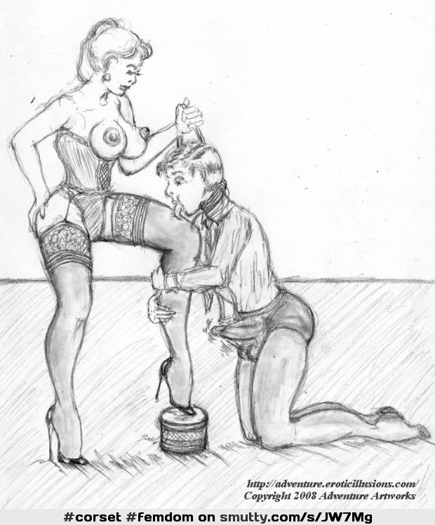 Art femdom Femdom Cartoon