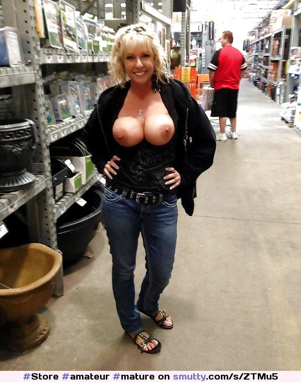 Mature Huge Hanging Tits