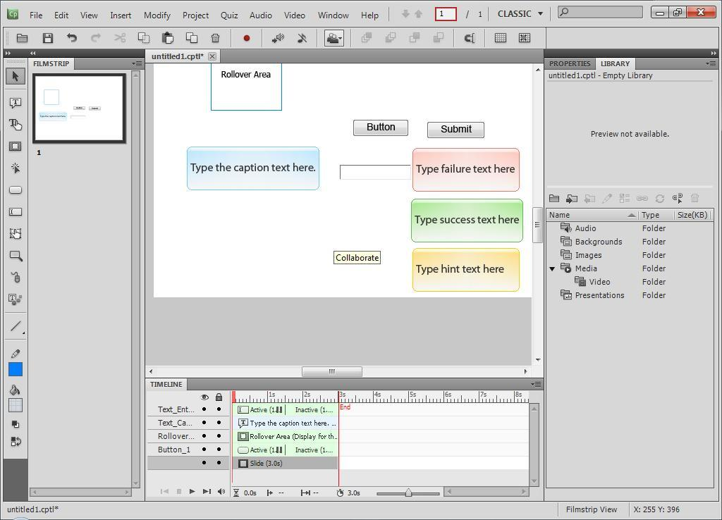 Adobe Captivate download for free - SoftDeluxe