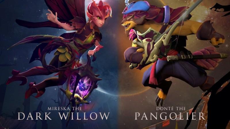 Pangolier и Dark Willow