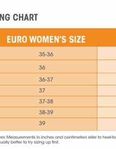 Howtosizewomens also how to find the youth equivalent of women   shoe sizes sierra blog rh