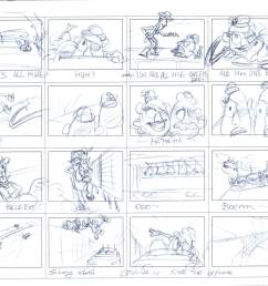 the pixar storytelling formula an inside look toy story 3 storyboard [ 1600 x 1242 Pixel ]