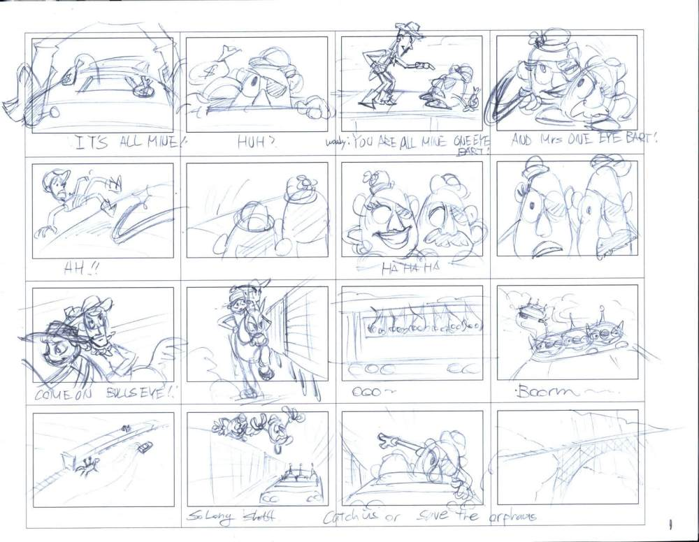 medium resolution of the pixar storytelling formula an inside look toy story 3 storyboard