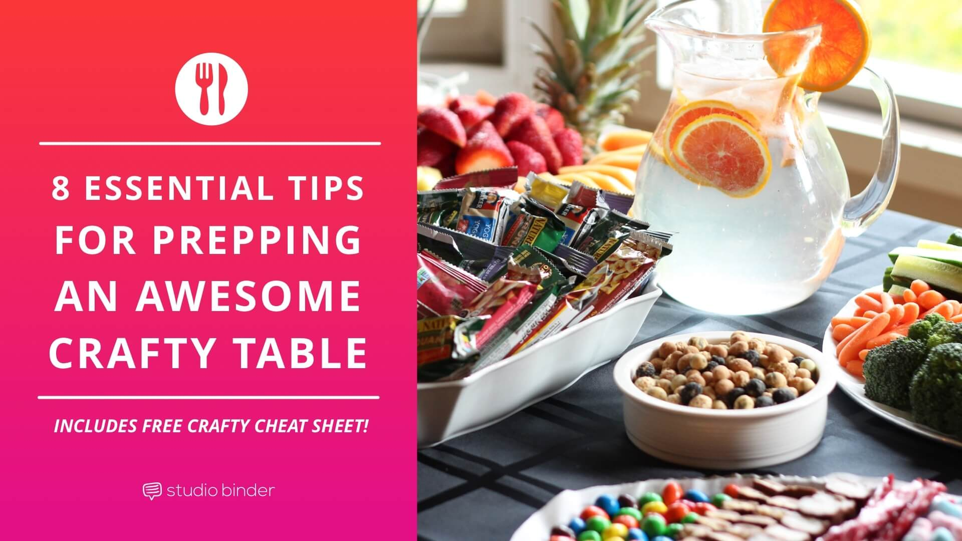 8 Essential Tips For Your Prepping An Awesome Craft