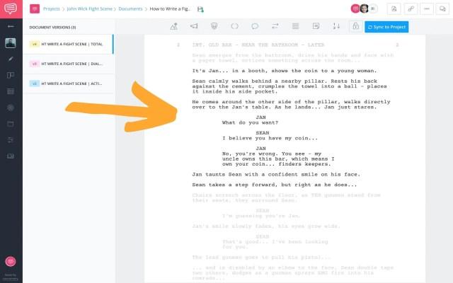 How to Write a Fight Scene in a Screenplay: John Wick Fight Scenes