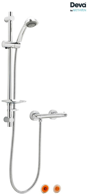 Thermostatic Bar Shower Valve With Multi Mode Kit & Flow