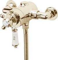 Kensington Exposed Thermostatic Shower Valve (Gold ...