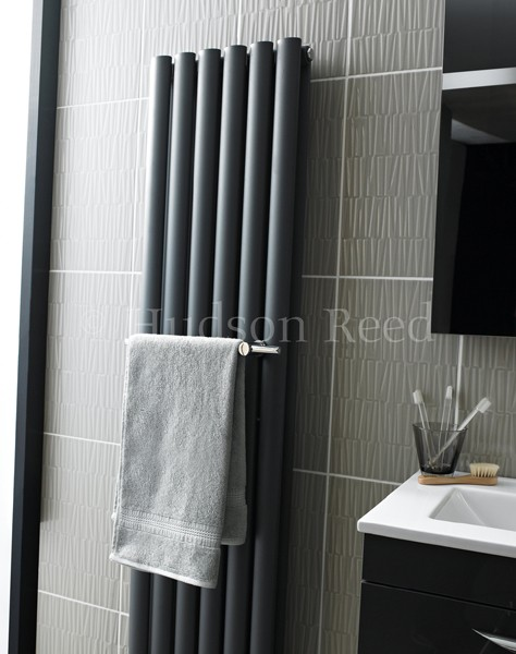 Towel Rail For Bathroom Radiators Chrome Hudson Reed