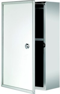 Croydex Cabinets CR-WC846005 Trent Lockable Mirror ...