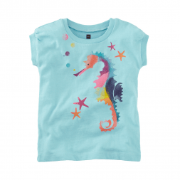 Tea Collection Seahorse Star Graphic Tee