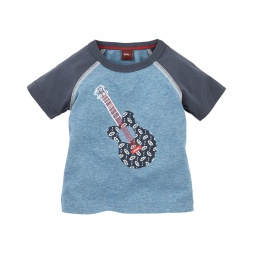 Paisley Melody Graphic Tee   Tea Collection