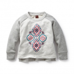 Tea Collection Zulema Stitched Sweatshirt