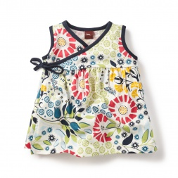 Seaside Garden Wrap Tunic for Baby Girls | Tea Collection
