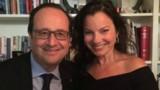 """Hollande prend la pose avec """"une Nounou d'enfer"""""""
