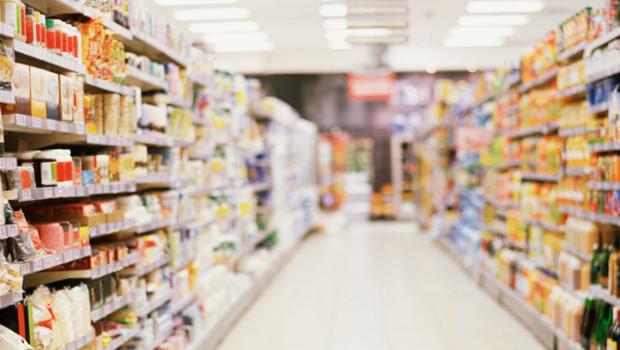 Un supermarché/Image d'archives