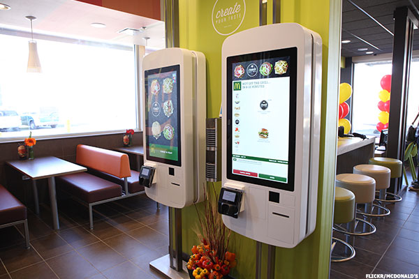 McDonalds MCD Rolling Out SelfOrdering Kiosks in