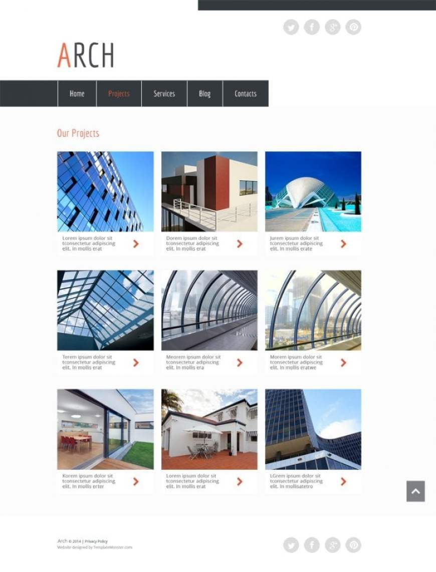 200 awesome css3 html5 website templates 2015 its clean and well defined layout html5 template for architecture site will easily make your site stand out in its web neighborhood