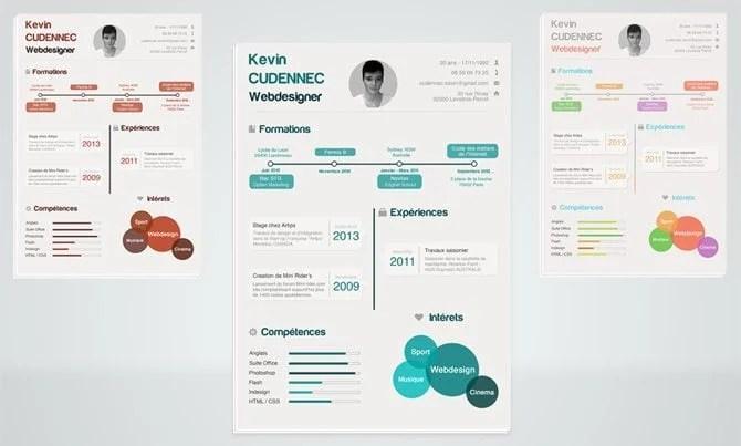 40 Best 2018's Creative Resume/CV Templates | Printable DOC
