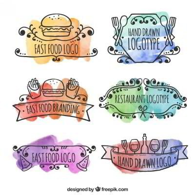 85 Watercolor Freebies For Graphic Designers AI JPG PNG